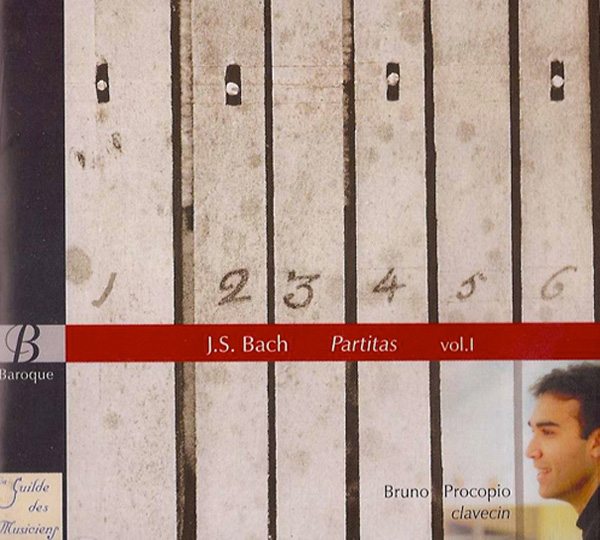 Partitas for harpsichord 3, 4, 1, J.S.Bach
