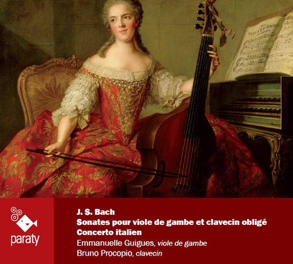 Sonatas for viola da gamba and harpsichord, J.S.Bach